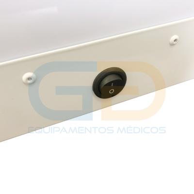 Negatoscópio 1 corpo – Aço Pintado – LED